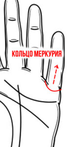 Линия вдовства на руке