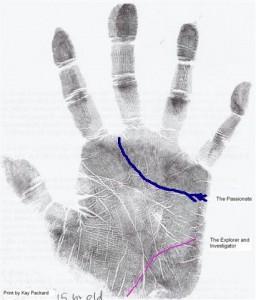 Анализ рук cтрастного исследователя